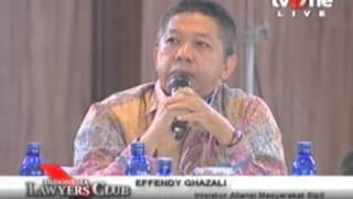 Akbar Faizal Pemilu 2014 sah atau tidak, ILC TV one