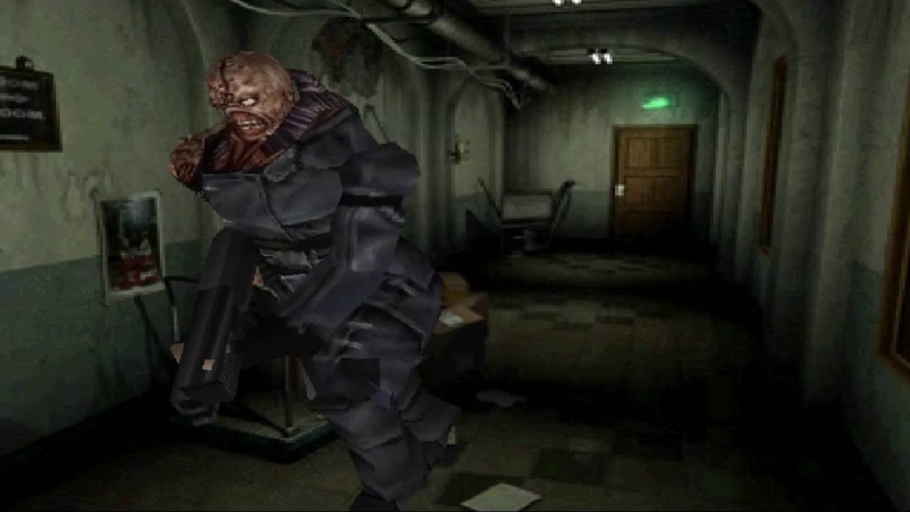 Resident Evil 2 Nemesis Mode Playstation Mod Youtube