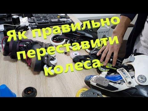 Як правильно переставити колеса на роликах, поставити мигаючі колеса та як зняти тормоз з роликів?