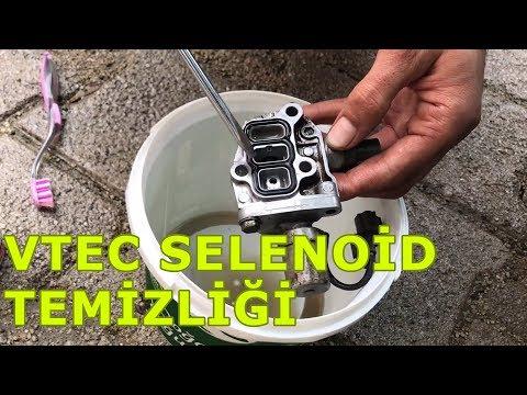 Vtec Selenoid Temizliği - Solenoid Cleaning