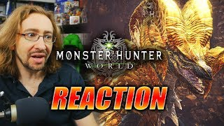 MAX REACTS: Kulve Taroth Elder Dragon/Monster Hunter Update