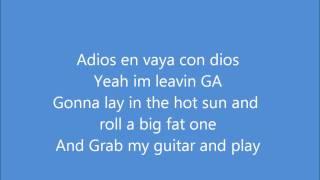 Toes: Zac Brown Band *lyrics on screen*