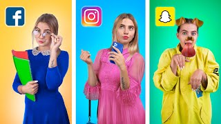 If Social Media Were Humans  / 12 Funny Situations We Can Relate To