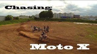 Chasing Moto X bikes with DJI Phantom 2 H3-3D Gimbal