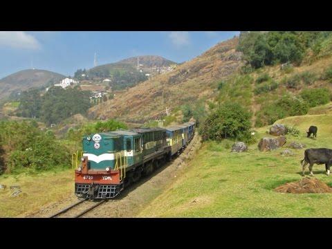 DIESEL Locomotives on Nilagiri Mountain Railways - Indian Railways