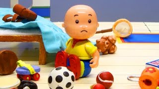 Caillou is Messy | Stop Motion Animated cartoon for Kids | Cartoon Caillou |