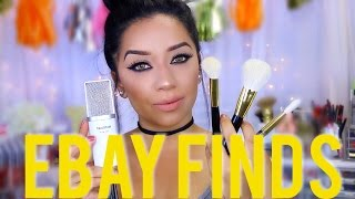 Ebay Finds | Contact Lenses, Makeup Brushes & More!