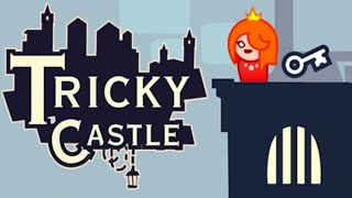 Tricky Castle - Gameplay Walkthrough Part 1- Princess Castle (Android,iOS)