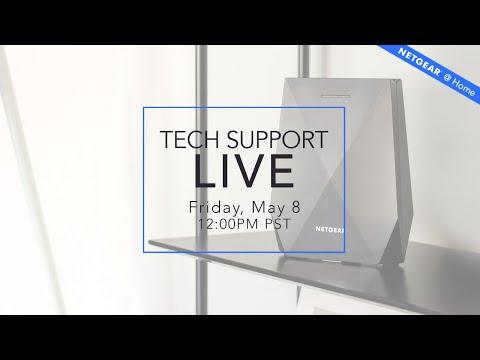 Tech Support LIVE   NETGEAR @ Home