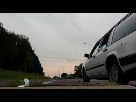 Volvo 940 D24tic diesel straight pipe side exit acceleration