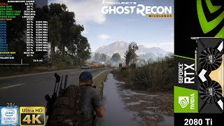 Ghost Recon Wildlands Very High Settings 4K | RTX 2080 Ti | i7 8700K 5.3GHz