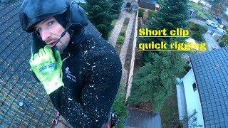 Short Clip - RIGGING - SKT - Tree climbing team Berlin by Bades Baumdienst
