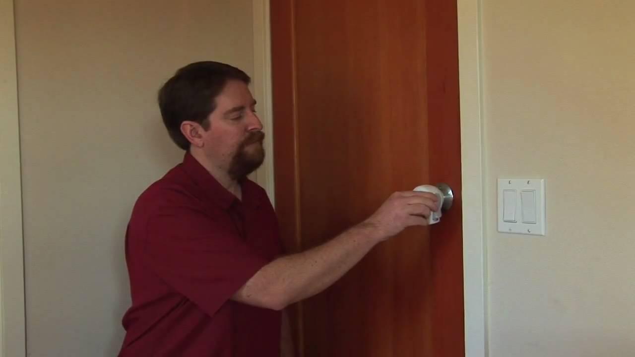 How to baby proof your door knob YouTube