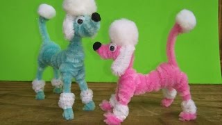 Repeat youtube video Como hacer un perrito en limpiapipas