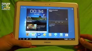 видео Обзор планшета Samsung N8000 Galaxy Note 10.1