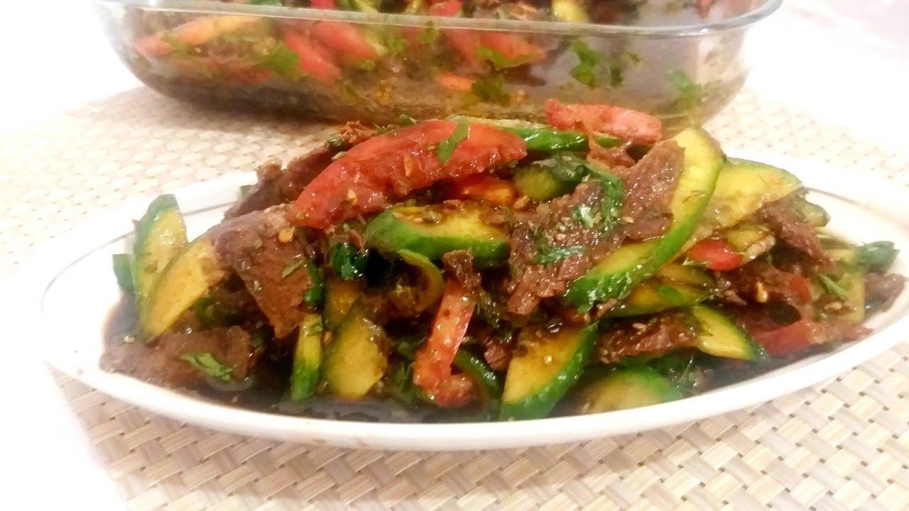 Японский салат. Это очень вкусно.