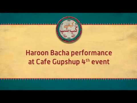 Haroon Bacha Performance at Cafe Gupshup Event - Prt2