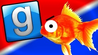 HILARIOUS GMOD PROP HUNT! Gold Fish, Hidden Objects, and More! (Funny Moments)