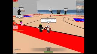 ROBLOX Basketball EBL #2 - Kingrayy123 vs MeowRecon