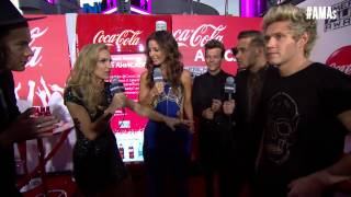 One Direction Red Carpet Interview - AMAs 2014