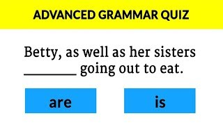 95% Will FAIL This Simple GRAMMAR QUIZ ✔ (IQ TEST)