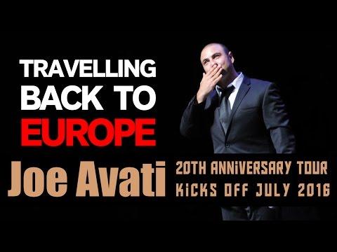 TIP: Travelling Back to Europe | Joe Avati: LIVE (DVD)