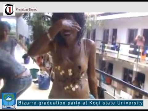 Bizarre graduation party at Kogi State University thumbnail