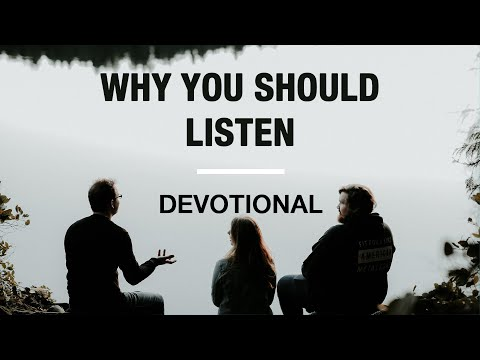 The One Thing to Do Before You Speak - Devotional