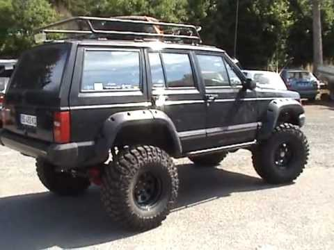 tour du cherokee xj 4l turn around jeep youtube. Black Bedroom Furniture Sets. Home Design Ideas