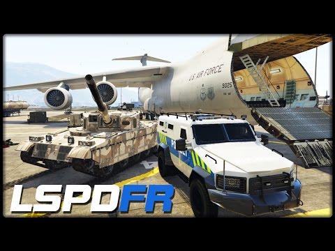 GTA 5 LSPD:FR #142 | FLUGZEUG TRANSPORT - Deutsch - Grand Theft Auto 5 LSPDFR