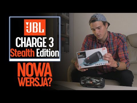 JBL Charge 3 Stealth Edition - nowy Charge 3?