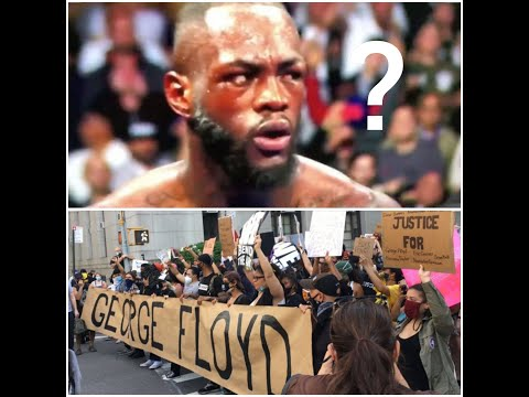 SERIOUS QUESTION : WHERE IS DEONTAY WILDER DURING THIS STRUGGLE??