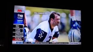 Tony Romo interview 2014