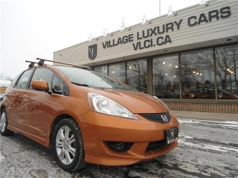 2009 Honda Fit [Sport LX] In Review   Village Luxury Cars Toronto