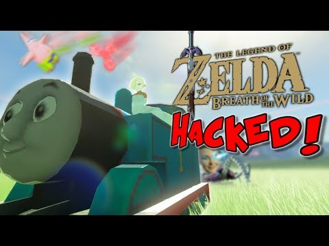 HACKING Breath of the Wild! Zelda: DatPags Edition Funny Moments Adventure!!