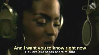 bob marley lauryn hill turn your lights down low subtitulado español inglés
