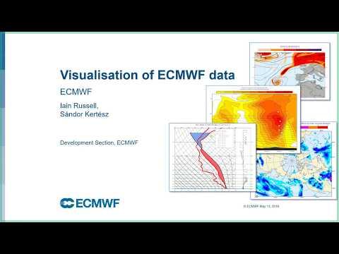 ECMWF Webinar: Visualisation Of ECMWF Data