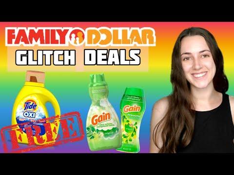 FREE TIDE & $1 GAIN – FAMILY DOLLAR RUN DEALS!!