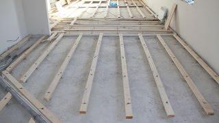 видео Пол из досок в квартире: как сделать деревянный пол, как перестелить и демонтаж