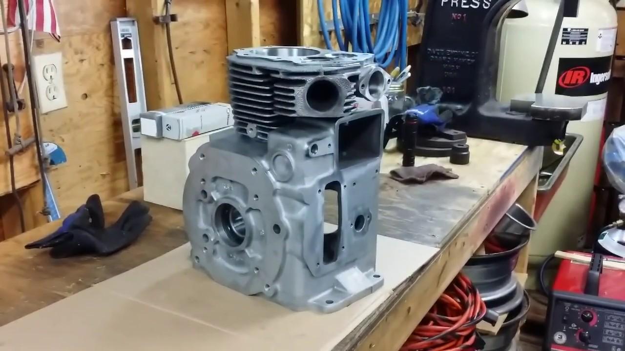 Wheel Horse 416-8 Garden Tractor Kohler Magnum 16 Engine Rebuild Part 3  VinsRJ