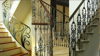 Latest staircase railing designs for modern homes