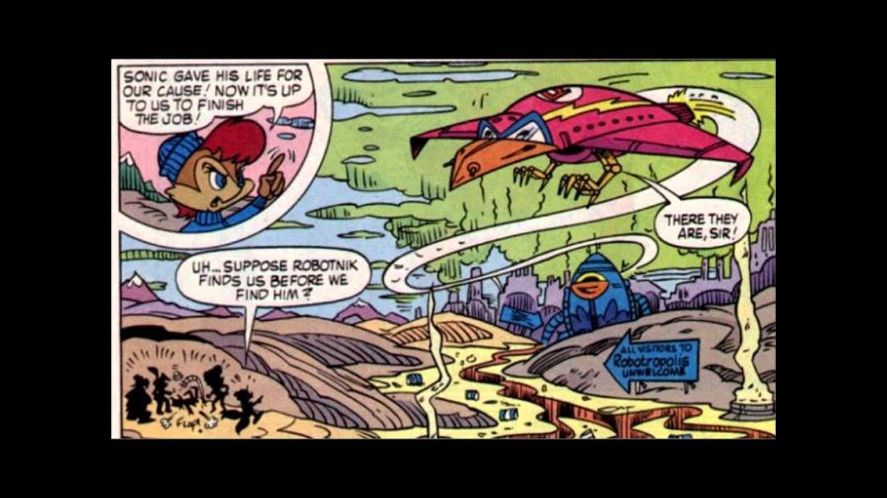 Sonic the Hedgehog Comic Issue #20