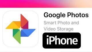 Como Descargar Google Photos app en iPhone 5 iPhone 6 iPhone 7 iPhone 8 iPhone X iPhone XR
