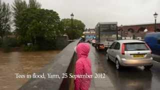 Yarm floods 25 September 2012.mov