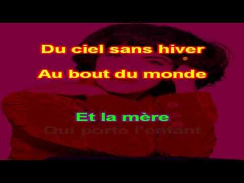 Mireile Mathieu   Santa Maria de la Mer   karaoke