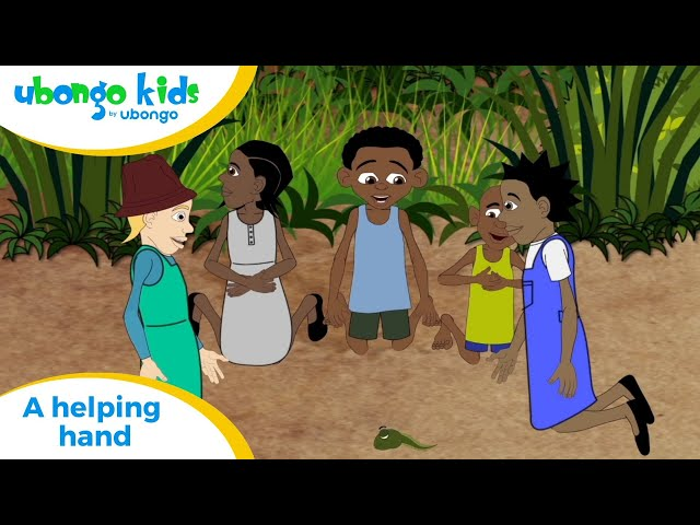 EPISODE 34: A Helping Hand! | Ubongo Kids | African Educational Cartoons