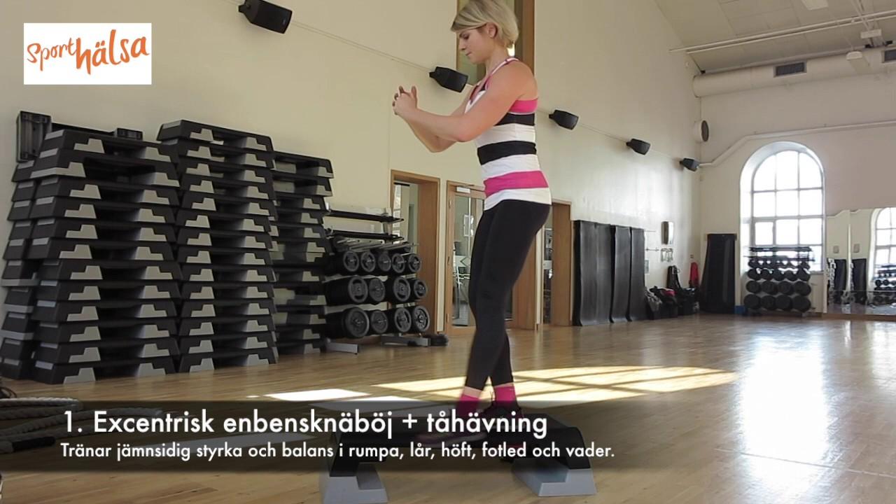 Löpstyrka - 4 övningar för hela kroppen