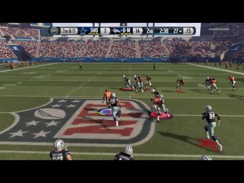 Madden NFL 16-No Fly Zone-Tip, Helmet tip, pick, pitch, pitch 6!