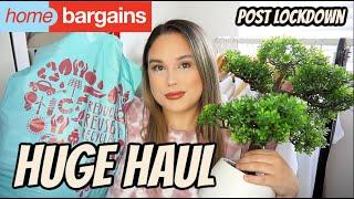 HUGE HOME BARGAINS HAUL POST LOCKDOWN JULY 2020 *NEW IN* | JADE TOMLINSON
