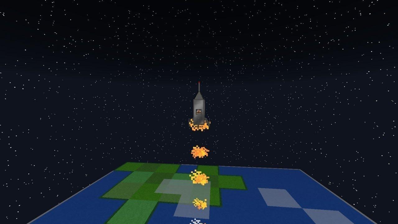 мод польот в космос в майнкрафт 1.7.10 #3